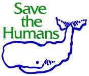 T04 - Save The Humans t-shirt