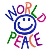 World Peace (On White) - T-shirt